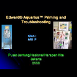 Priming dan Troubleshooting CRRT Aquarius