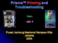 Priming dan Troubleshooting CRRT Prisma